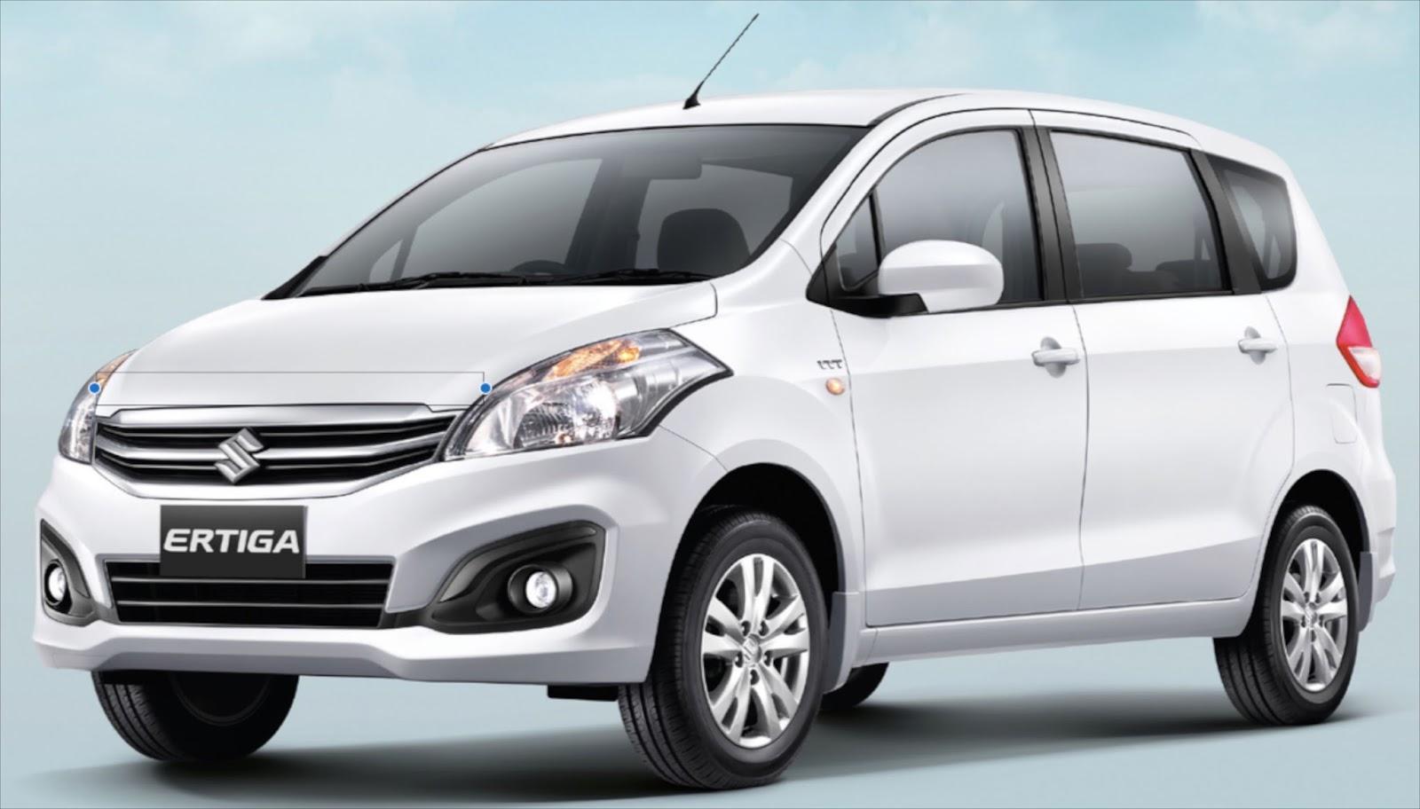 2016 Maruti Suzuki Ertiga Front Look