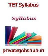 TET Syllabus
