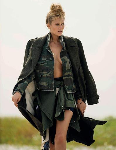 Toni Garrn – Elle Italy Magazine