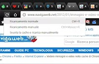 3 modi per ricaricare una pagina web (Chrome Firefox e tutti i browser)