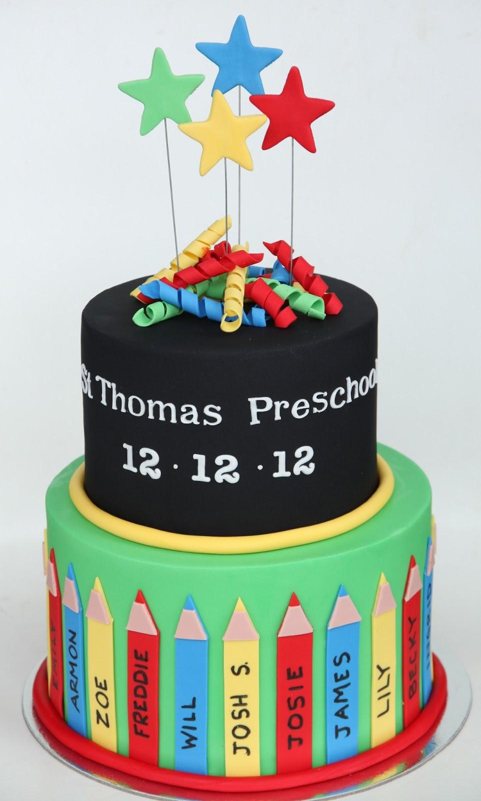 IMG 4160a - Kindergarten Graduation Cake