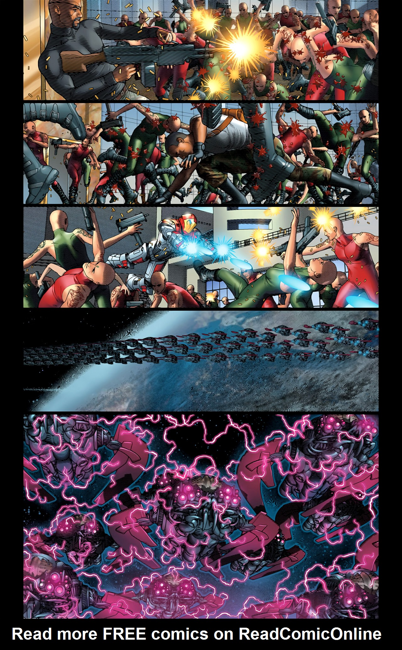 Read online Ultimate Extinction comic -  Issue #5 - 13