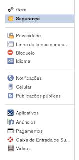 Segurança Facebook