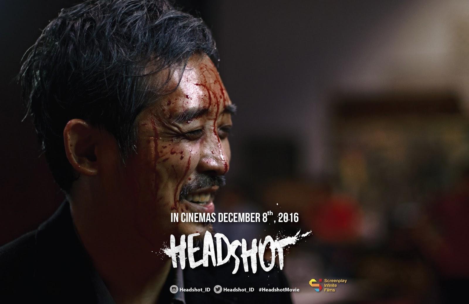 Iko Uwais dalam film terbarunya, Headshot