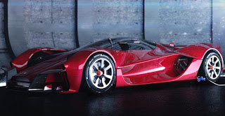 Dendrobium Electric Hypercar From Singapore Side Picture