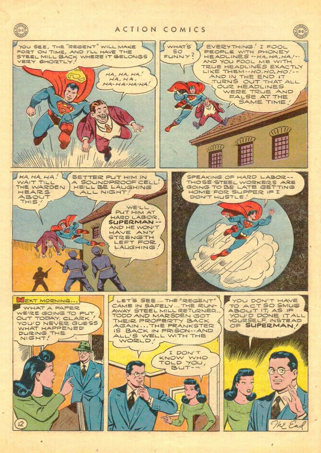 Read online Action Comics (1938) comic -  Issue #77 - 13