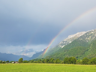double rainbow interlaken switzerland