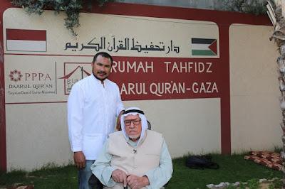 rumah tahfidz darul quran gaza palestina