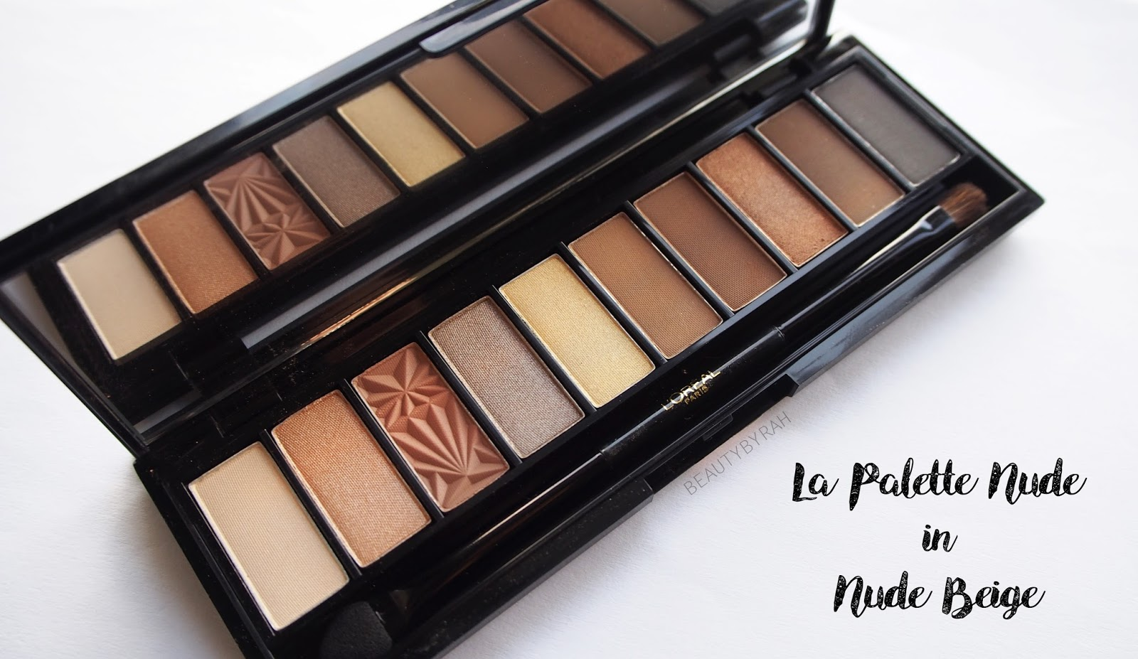 Loreal La palette nude singapore nude beige review