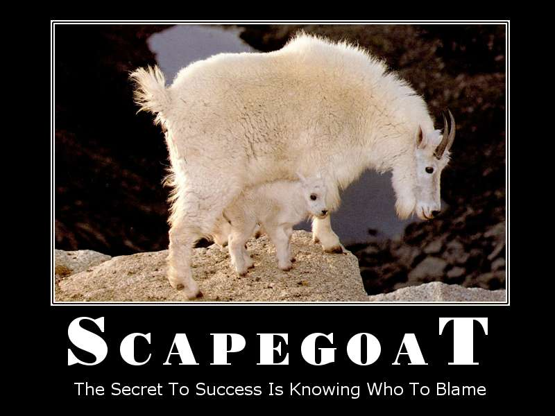 To be singled out-Scapegoating - An Insidious Family Pattern