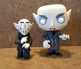 Nosferatu Mystery Mini and Funko POP