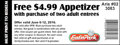 Free $4.99 Appetizer Coupon