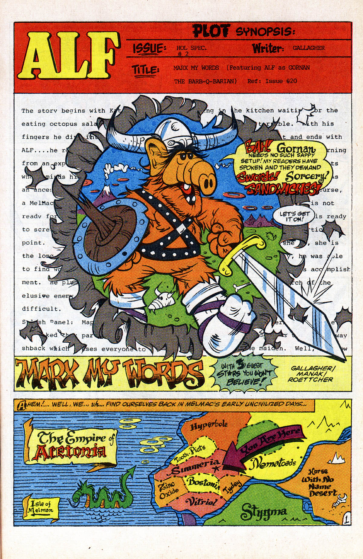 Read online ALF comic -  Issue #2 - 26
