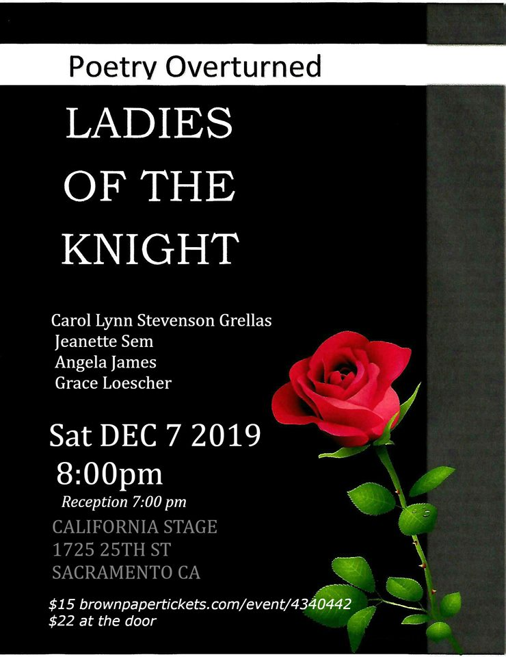 LADIES OF THE KNIGHT in Sac. Sat. (12/7)