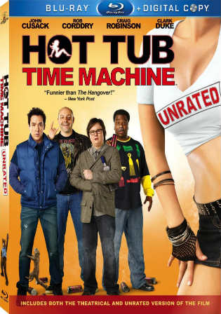 Hot Tub Time Machine 2010 BluRay 300MB UNRATED Hindi Dubbed 480p Watch Online Full Movie Download bolly4u