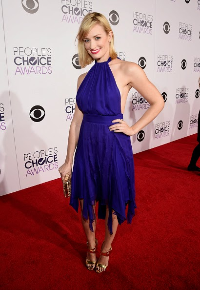 Beth Behrs at the People's Choice Awards