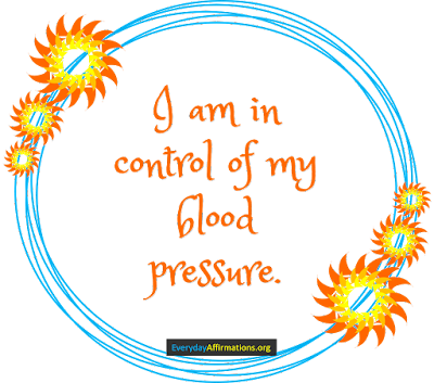 Health Affirmations for Blood Pressure3