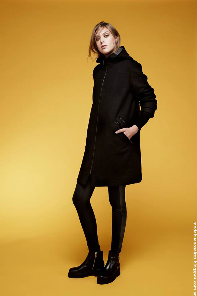 Moda otoño invierno 2016 ropa de mujer Chocolate.