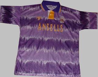 Jersey Away Klub Stok City 1992