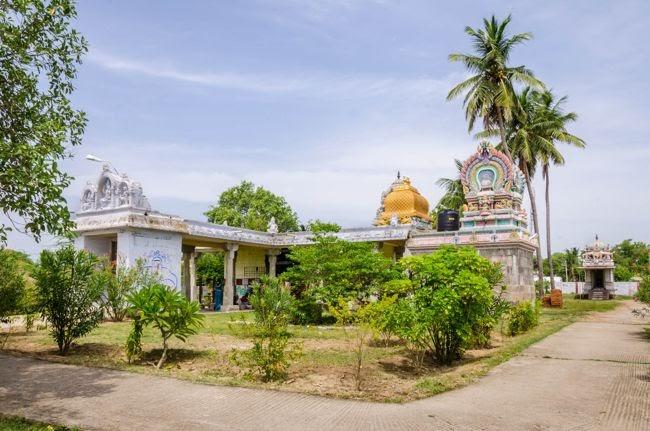 View Of Deivanayaka Easwarar Temple Complex