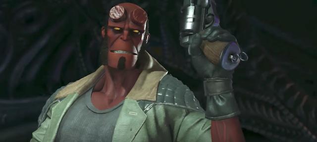 Injustice 2 presenta a Hellboy en un nuevo tráiler
