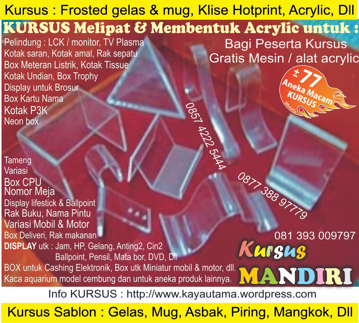 Wisata Jakarta Kota Tua: Frosted Glass,Fiberglass,Emboss,Sandblasting,ETSA,Bevell