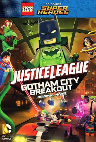 LEGO DC Comics Super Heroes Justice League Gotham City Breakout (BRRip 720p Español Latino) (2016)