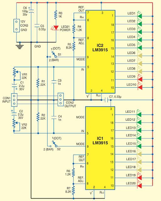 How To Build Peak Indicator Circuit Diagram