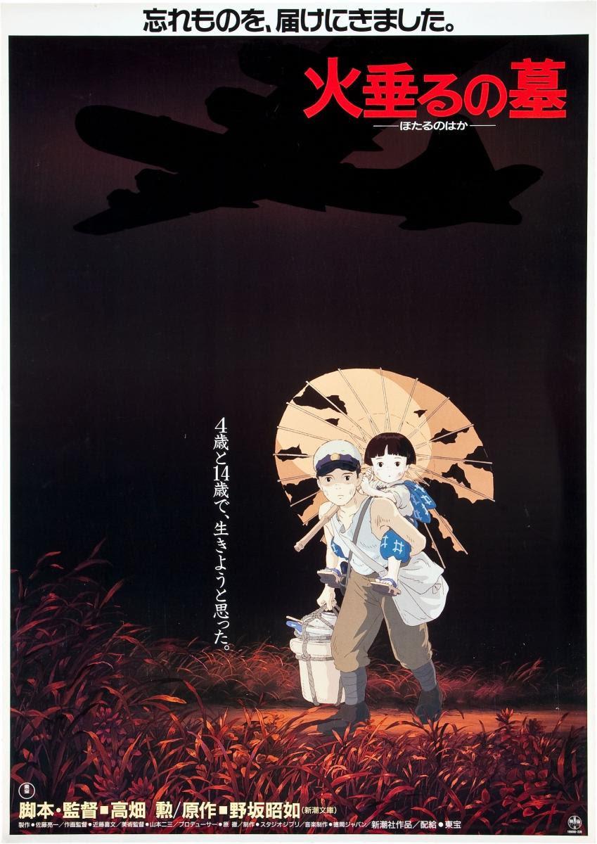 Poster do filme Túmulo dos Vagalumes