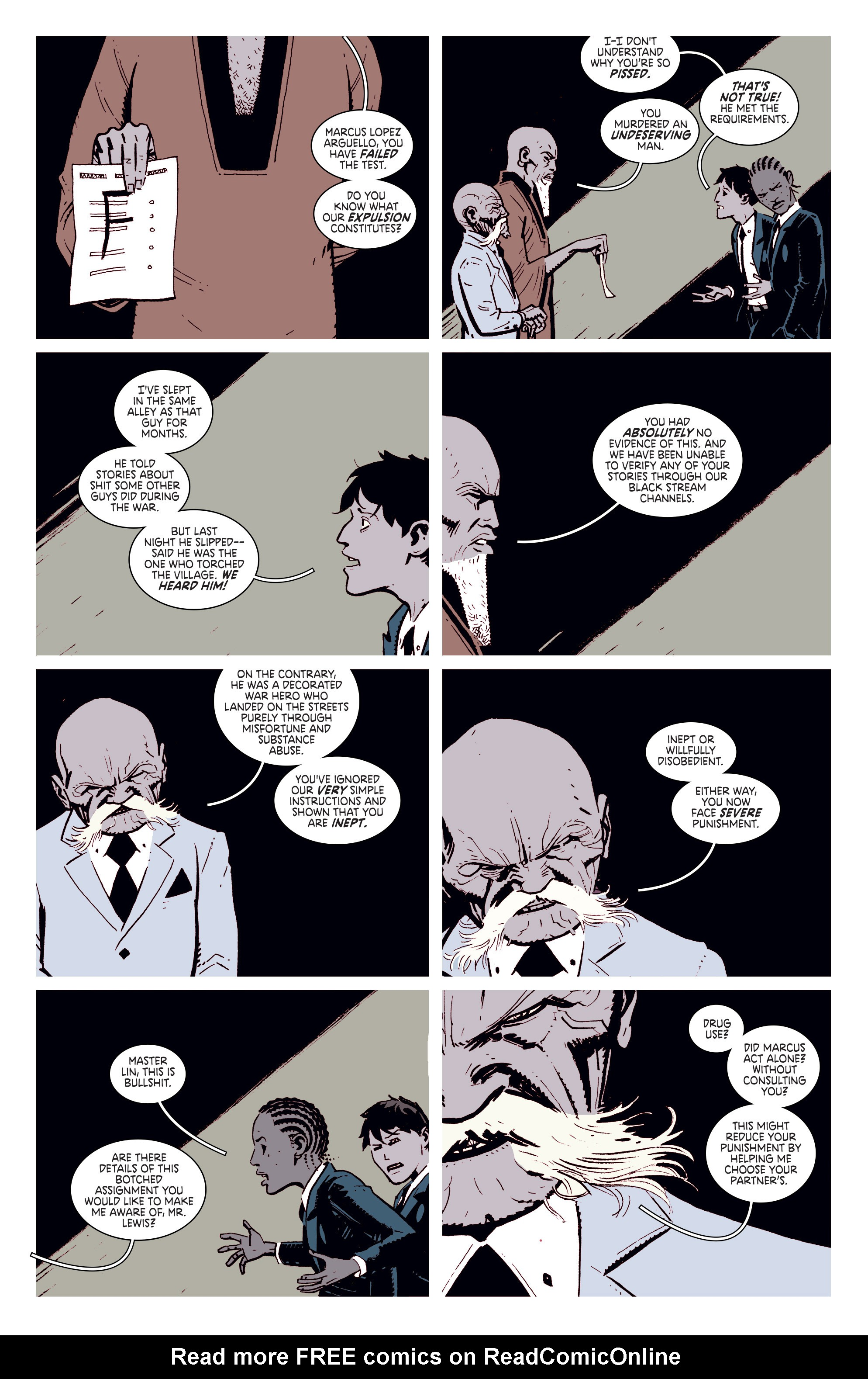 Read online Deadly Class comic -  Issue #4 - 5