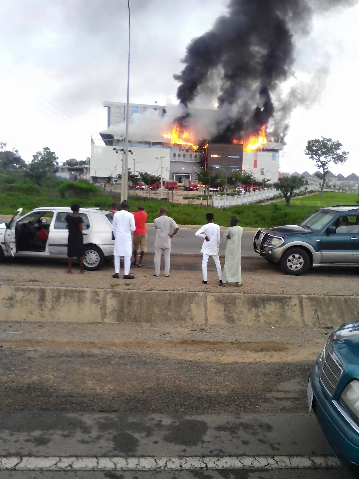 Witnesses Reveal How House On The Rock Fire Began... (See Full Details)