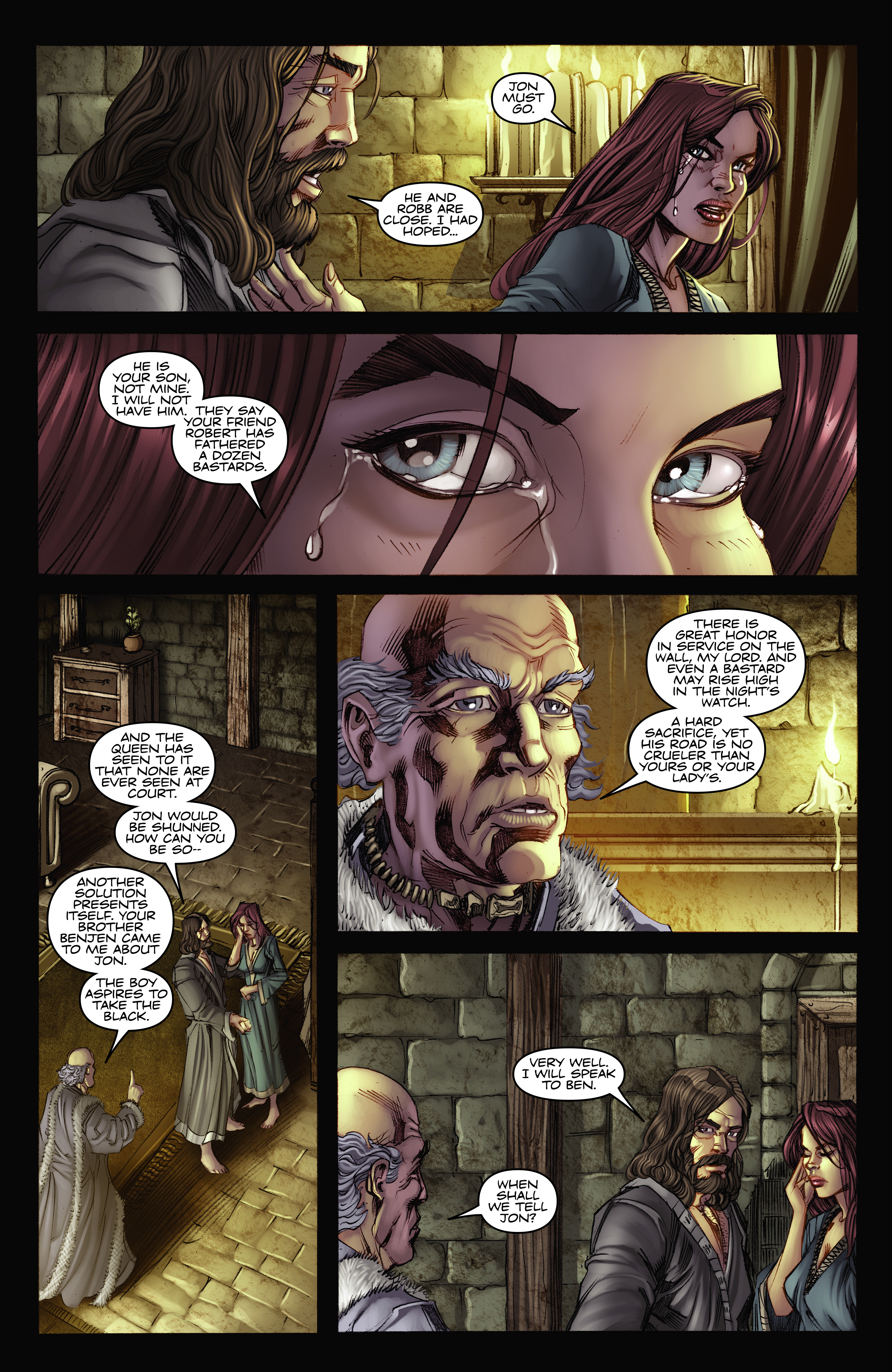 Read online A Game Of Thrones comic -  Issue #2 - 30