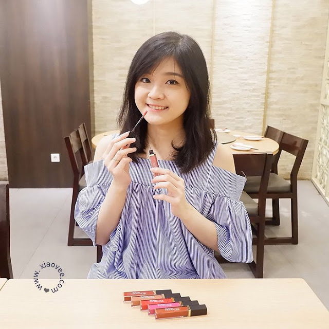 Purbasari Hydra Series Hi-Matte Lip Cream - New Color 06-11 review, xiao vee, shelviana handoko, shelvi blogger
