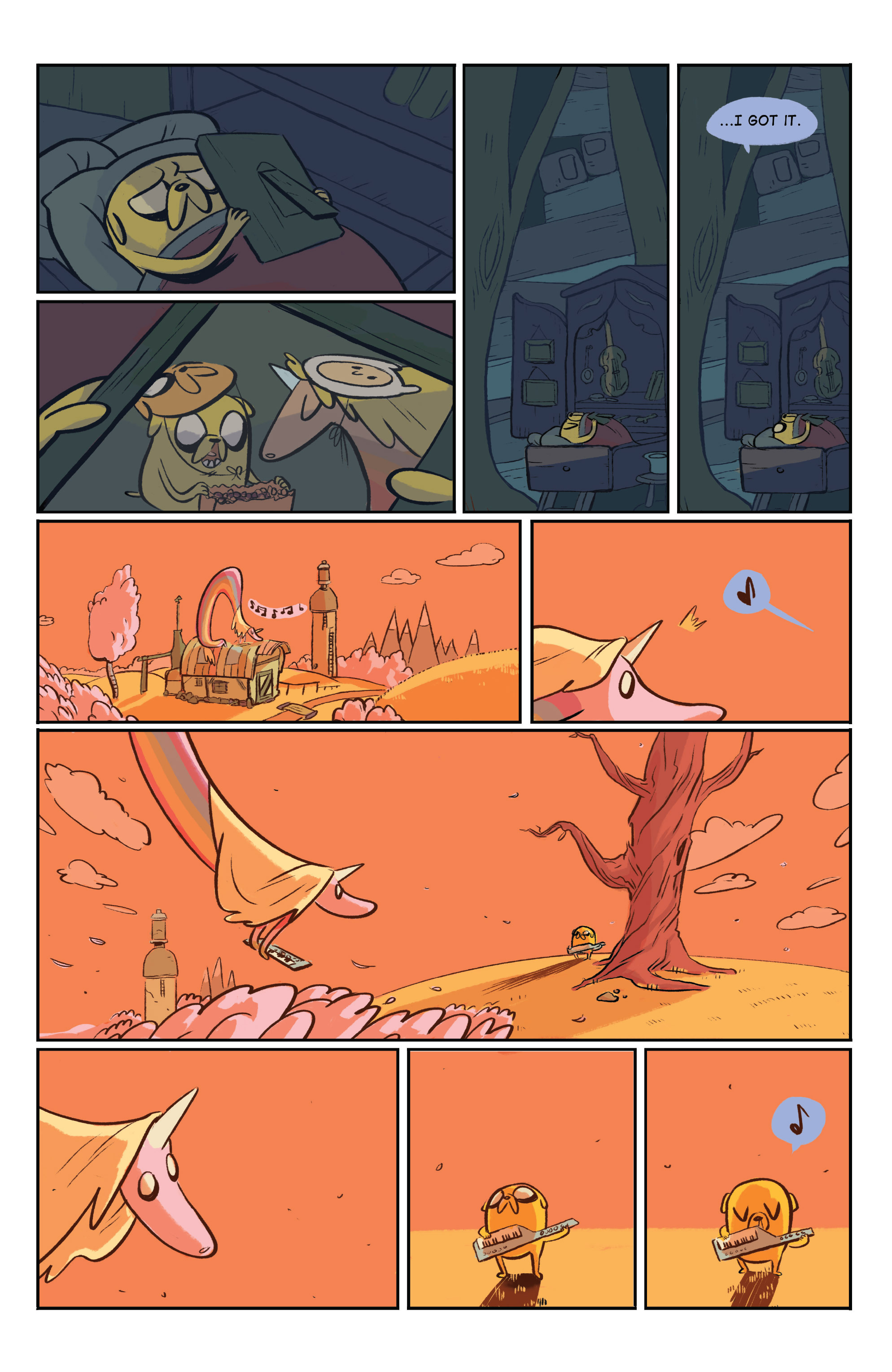 Read online Adventure Time: Marceline and the Scream Queens comic -  Issue #5 - 26