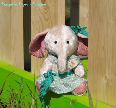 слон ручная работа