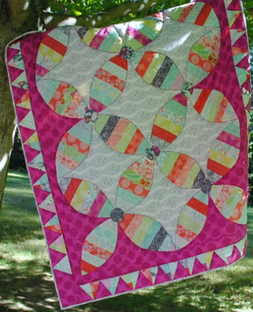 Canyon Color Play Quilt Tutorial