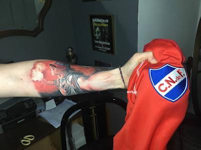 Tatuaje Hincha de Nacional