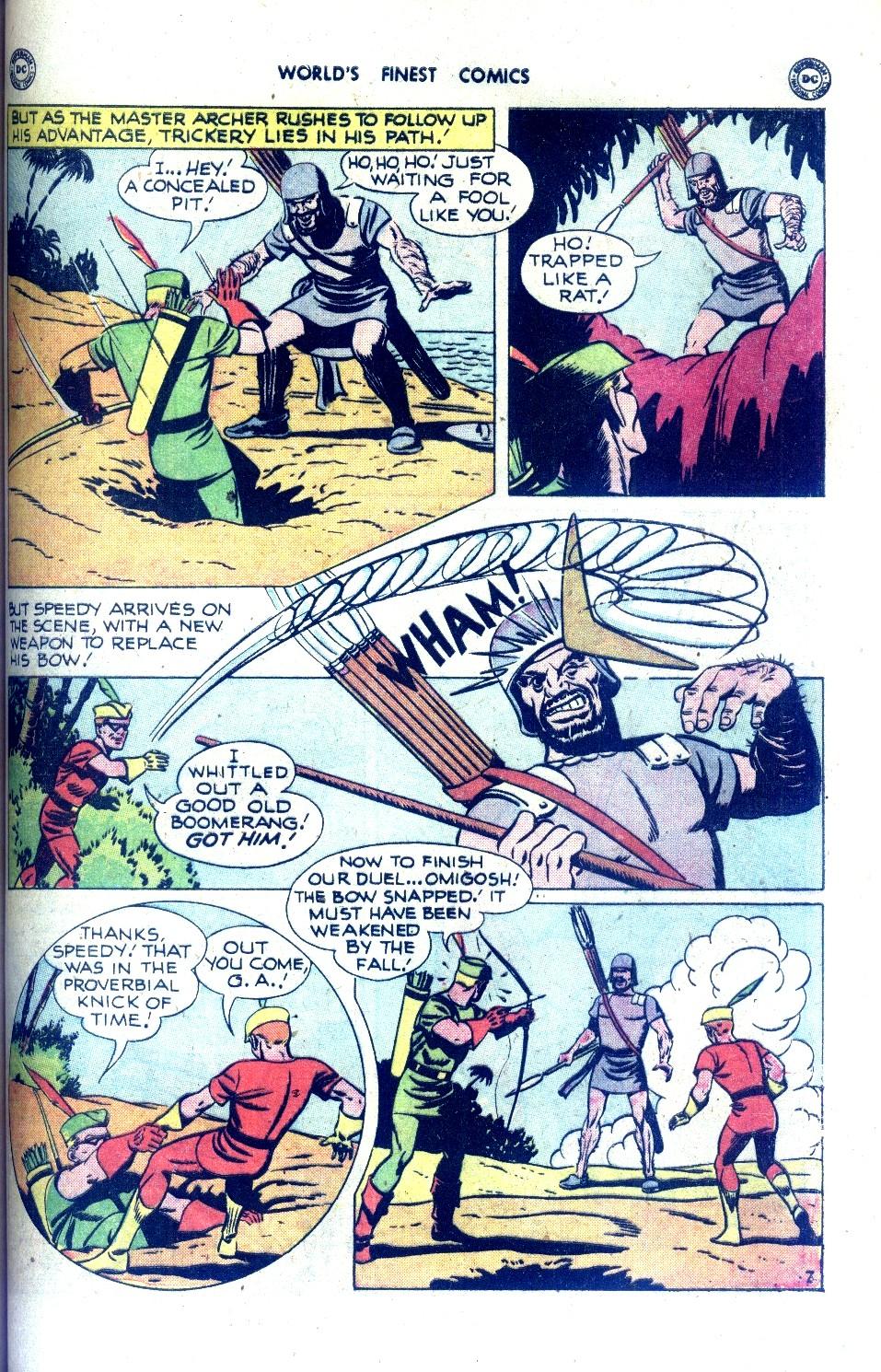 Read online World's Finest Comics comic -  Issue #43 - 47