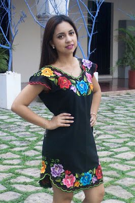 Vestidos MEXICANOS elegantes originales