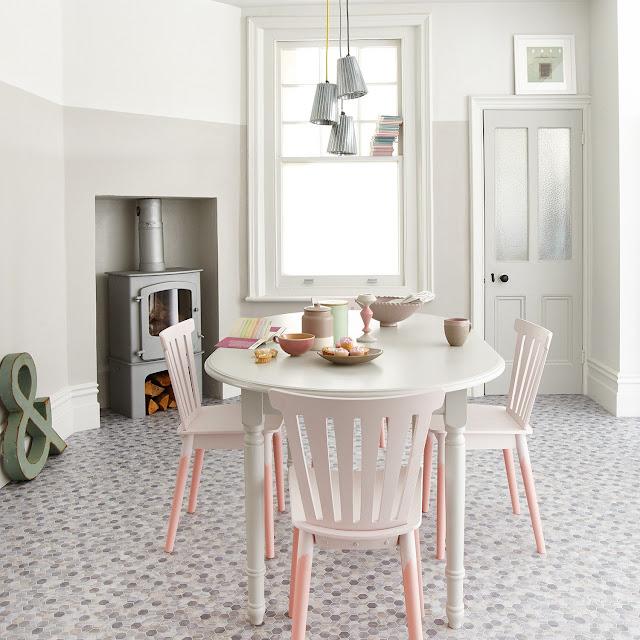 kitchen hexagon tiles