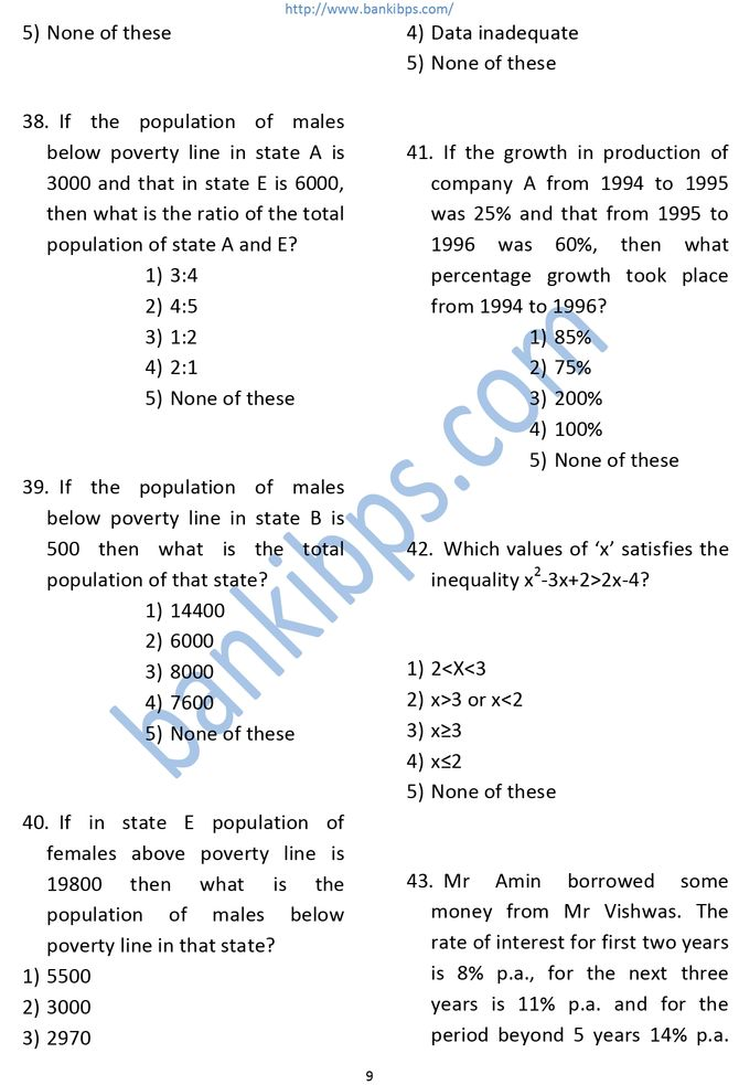 IDBI Bank Previous Year Question Paper For Executive Post