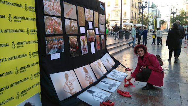 exposición, fotografía, Valencia, evento, Amnistía Internacional, plaza de la Vírgen