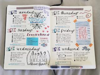 Jak zacząć miesiąc w bujo [2]