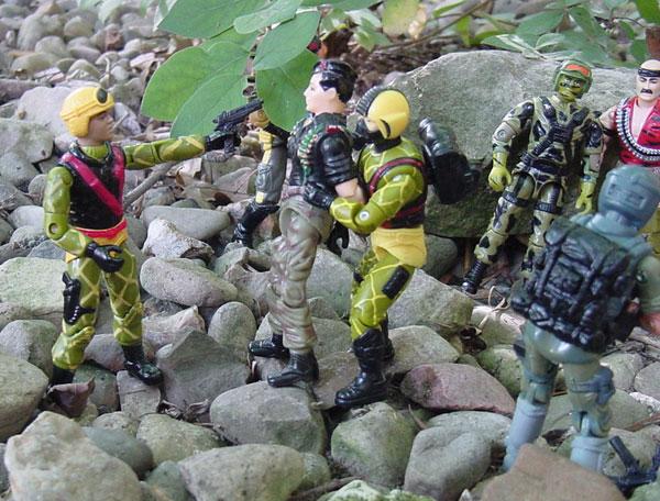 Gatilho, Python Patrol Airborne, Brazil, Estrela, Viper, 1989, 2002 Viper, Copperhead, Funskool Flint, 1984 Mutt, 1988 Hit and Run, 1993 Gung Ho