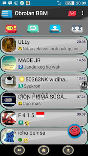 BBM MOD 3D Special Edition for Android Gingerbread, Honeycomb, Ice Cream Sandwich, Jelly Bean, and Up