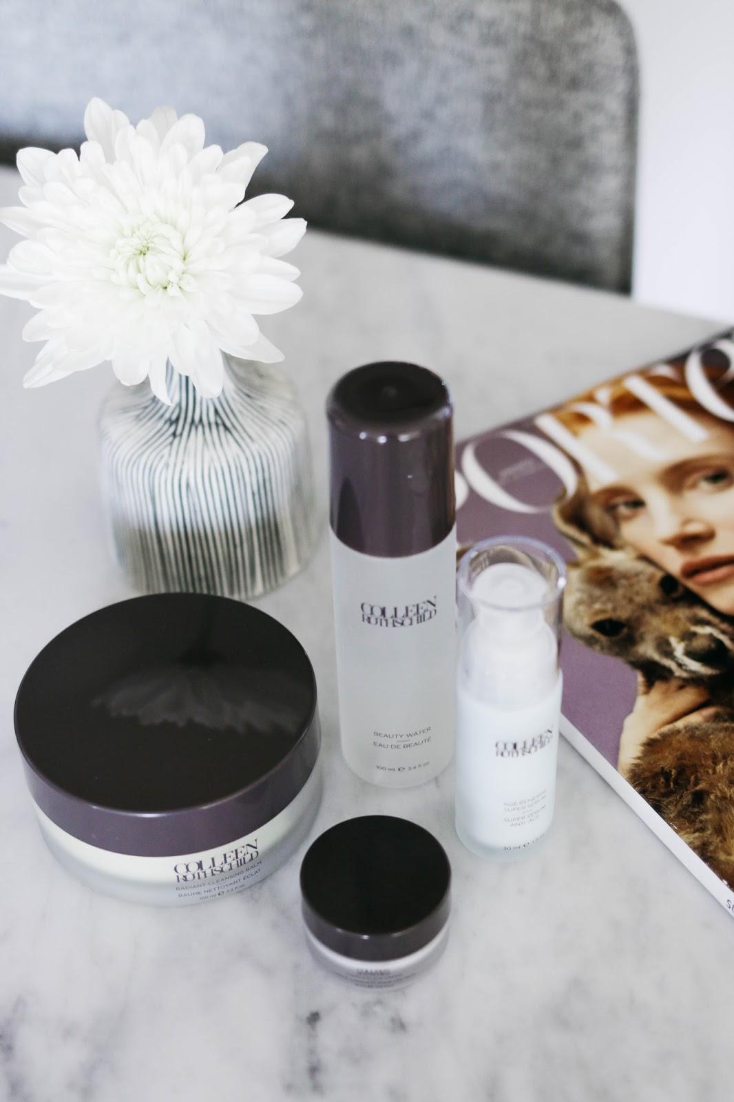 beauty, skincare, blog, beauty blogger, colleen rothschild, serum, travel, age renewal