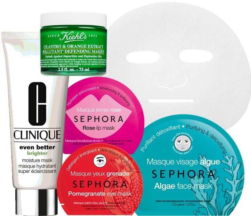 mascaras de beleza, beleza, beauty, masks, beauty masks, sephora, clinique, khiel's,