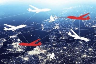Интернет с самолётов грозит стать более выгодным, чем интернет со спутников!