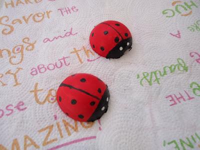 Ladybug Garden Decoration DIY