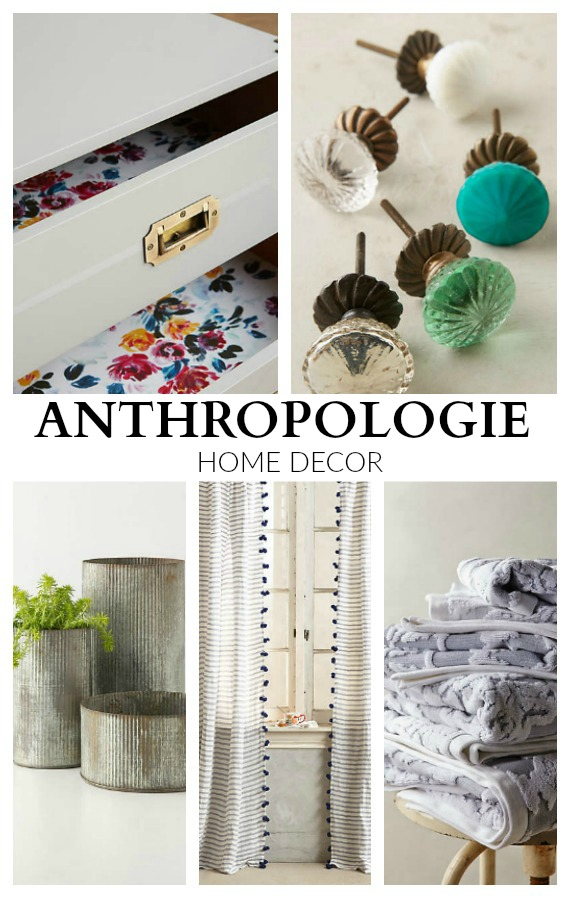 Five Friday Finds- Beautiful Inspiration from Anthropologie!